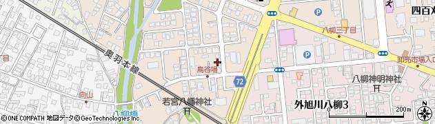 秋田県秋田市外旭川(神宮田)周辺の地図