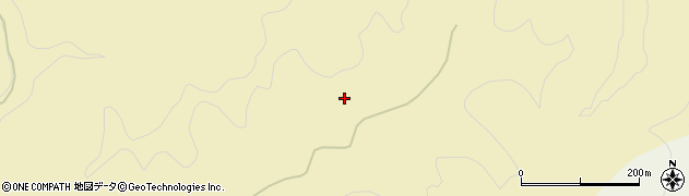 秋田県秋田市太平黒沢(払川)周辺の地図