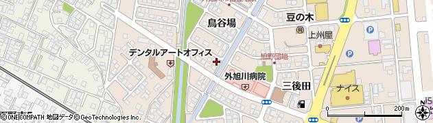 秋田県秋田市外旭川(鳥谷場)周辺の地図