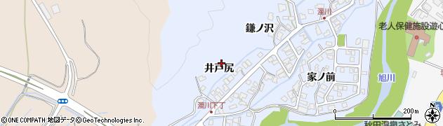 秋田県秋田市濁川(濁川)周辺の地図