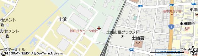 秋田県秋田市土崎港古川町(古川添下)周辺の地図