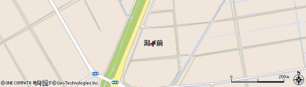 秋田県秋田市外旭川(潟ノ前)周辺の地図