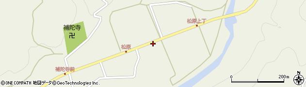 秋田県秋田市山内(田中)周辺の地図