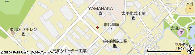 秋田県秋田市土崎港相染町周辺の地図