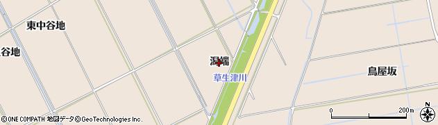 秋田県秋田市飯島(潟端)周辺の地図