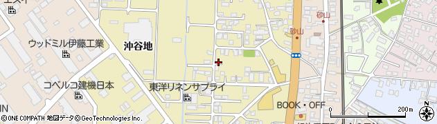 秋田県秋田市土崎港相染町(沼端)周辺の地図
