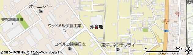 秋田県秋田市土崎港相染町(沖谷地)周辺の地図