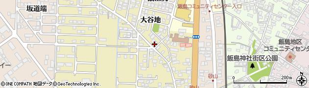 秋田県秋田市土崎港相染町(大谷地)周辺の地図