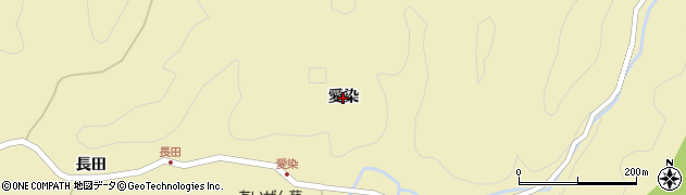 秋田県秋田市上新城道川(愛染)周辺の地図