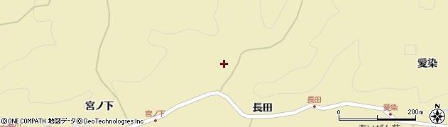 秋田県秋田市上新城道川(入ケ沢)周辺の地図
