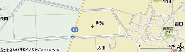秋田県秋田市下新城青崎(沢見)周辺の地図