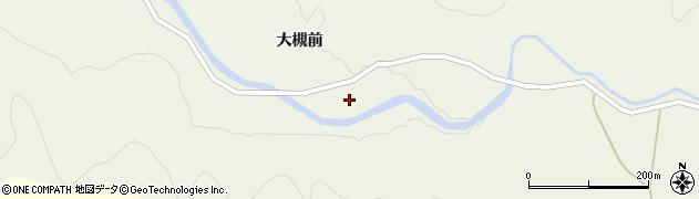 秋田県秋田市上新城小又(囲地田)周辺の地図