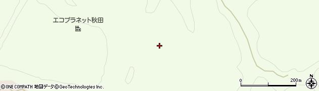 秋田県秋田市金足黒川(黒川山)周辺の地図