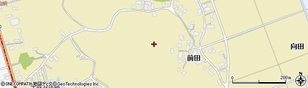 秋田県秋田市金足下刈周辺の地図