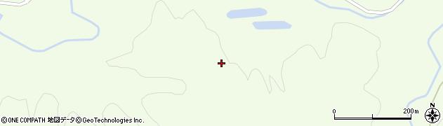 秋田県秋田市金足黒川(櫃森)周辺の地図