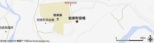 岩手県下閉伊郡岩泉町周辺の地図