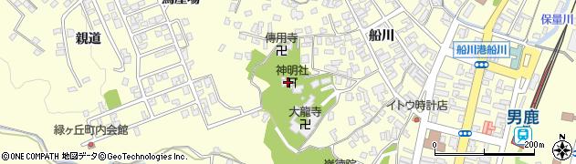 船川神明社周辺の地図