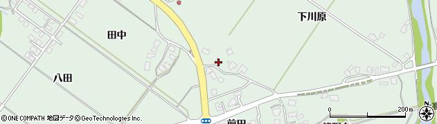 秋田県南秋田郡五城目町高崎下川原周辺の地図