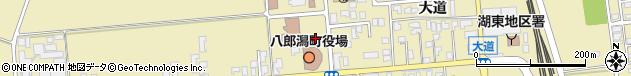 秋田県南秋田郡八郎潟町周辺の地図