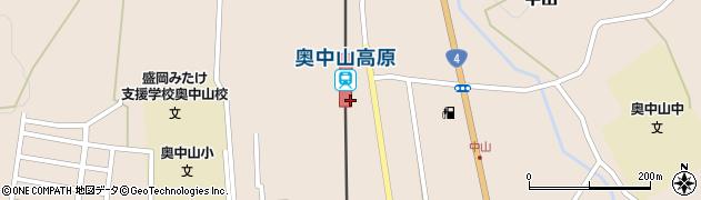 岩手県二戸郡一戸町周辺の地図
