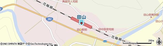 岩手県八幡平市周辺の地図