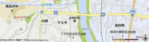 船霊神社周辺の地図