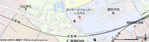 多宝寺周辺の地図