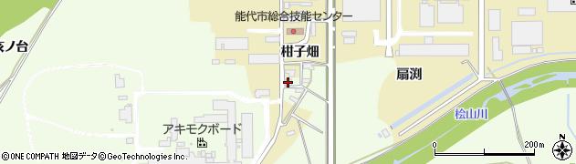 秋田県能代市鰄渕亥ノ台周辺の地図