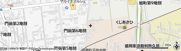 東北電力アパート周辺の地図