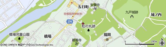 呑香稲荷神社周辺の地図