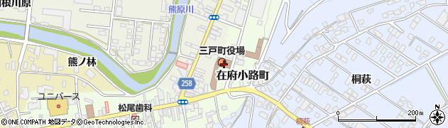 青森県三戸郡三戸町周辺の地図