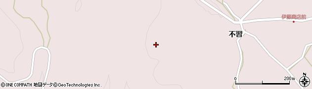 青森県八戸市南郷大字島守(瘤沢)周辺の地図