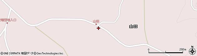 青森県八戸市南郷大字島守(山田)周辺の地図