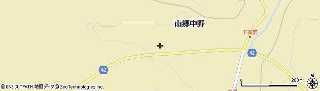 青森県八戸市南郷大字中野(樋河)周辺の地図