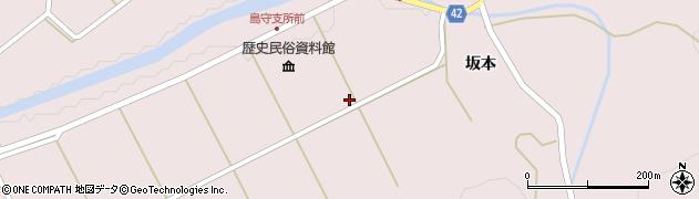 青森県八戸市南郷大字島守(小山田)周辺の地図