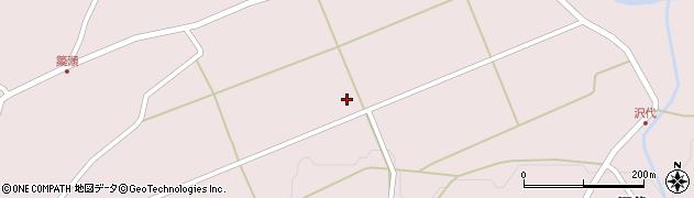 青森県八戸市南郷大字島守(野田)周辺の地図