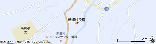青森県新郷村(三戸郡)周辺の地図