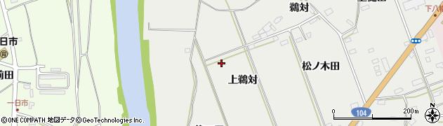 青森県八戸市八幡(上鵜対)周辺の地図