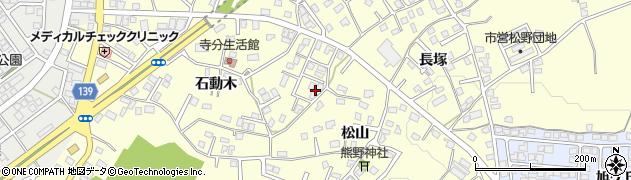 青森県八戸市新井田周辺の地図