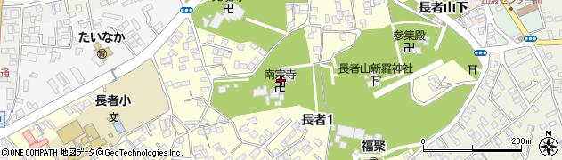 南宗寺周辺の地図