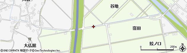 青森県八戸市櫛引(谷地)周辺の地図
