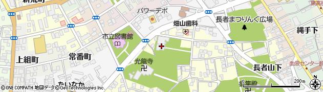 禅源寺周辺の地図
