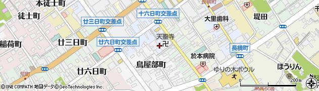 天聖寺周辺の地図