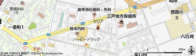 青森県八戸市尻内町(八百刈)周辺の地図