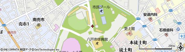 青森県八戸市売市(輿遊下)周辺の地図