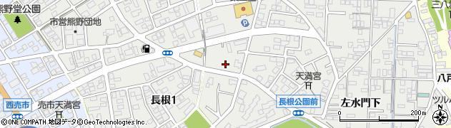 青森県八戸市売市周辺の地図