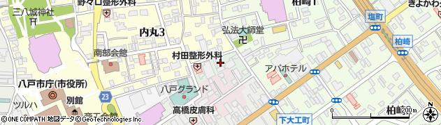 青森県八戸市常海町周辺の地図