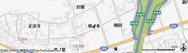 青森県八戸市尻内町(栃ノ木)周辺の地図