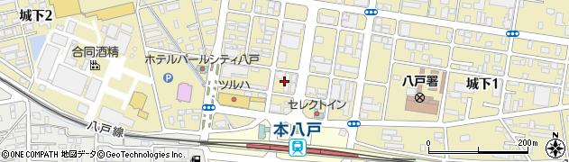 日本たばこ産業社宅周辺の地図