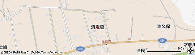 青森県八戸市豊崎町(浜坂脇)周辺の地図